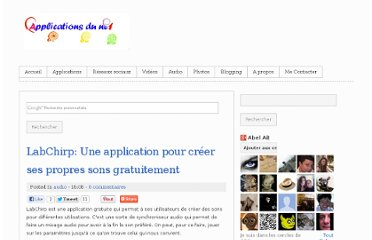 http://www.applicanet.com/2012/03/labchirp-une-application-pour-creer-ses.html