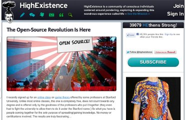 http://www.highexistence.com/the-open-source-revolution-is-here/