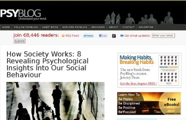 http://www.spring.org.uk/2012/03/how-society-works-8-revealing-psychological-insights-into-our-social-behaviour.php