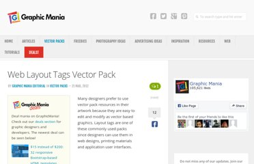 http://www.graphicmania.net/web-layout-tags-vector-pack/