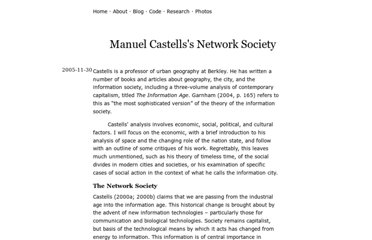 http://www.geof.net/research/2005/castells-network-society