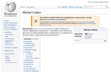 http://fr.wikipedia.org/wiki/Michel_Collon