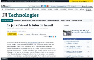 http://www.lemonde.fr/technologies/article/2010/03/19/le-jeu-video-est-le-futur-du-travail_1321769_651865.html