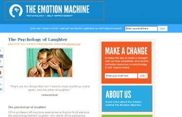 http://www.theemotionmachine.com/psychology-of-laughter