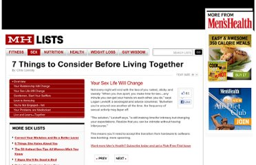 http://www.menshealth.com/mhlists/relationship_tips_cohabitation/Your_Sex_Life_Will_Change.php
