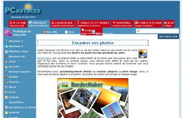 http://www.pcastuces.com/pratique/multimedia/encadrer_photo/page1.htm