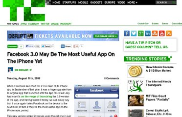 http://techcrunch.com/2009/08/18/facebook-30-may-be-the-most-useful-app-on-the-iphone-yet/