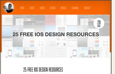 http://nathanbarry.com/25-free-ios-design-resources/