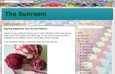 http://goodtimesithinkso.blogspot.com/2011/01/rag-rug-inspirations-how-tos-and.html