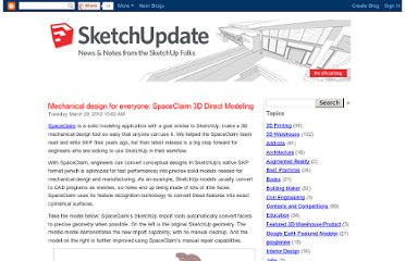 http://sketchupdate.blogspot.com/2012/03/mechanical-design-for-everyone.html