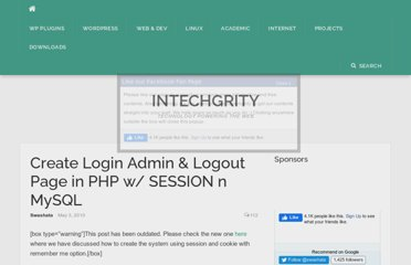 http://www.intechgrity.com/create-login-admin-logout-page-in-php-w/#comment-25300