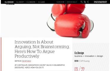 http://www.fastcodesign.com/1669329/dont-brainstorm-argue