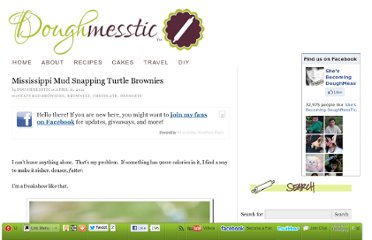 http://doughmesstic.com/2011/04/11/mississippi-mud-snapping-turtle-brownies/