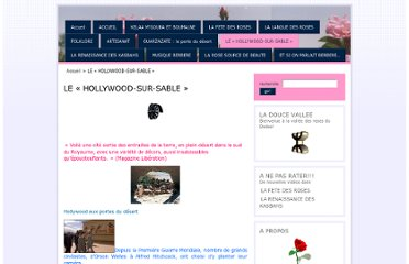 http://doucevallee.unblog.fr/le-hollywood-sur-sable/
