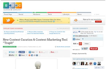 http://www.business2community.com/content-marketing/new-content-curation-content-marketing-tool-trapit-0150421