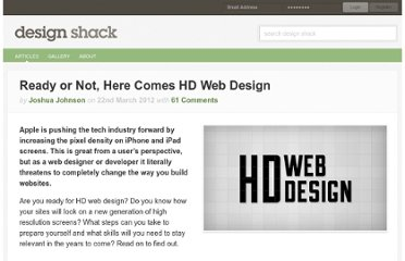 http://designshack.net/articles/html/ready-or-not-here-comes-hd-web-design/