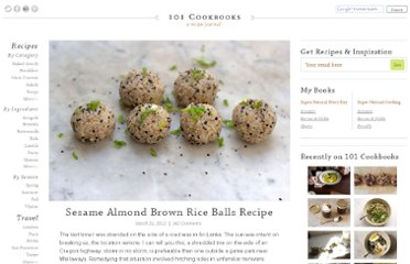 http://www.101cookbooks.com/archives/sesame-almond-brown-rice-balls-recipe.html