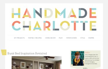 http://www.handmadecharlotte.com/more-bunk-bed-inspiration/