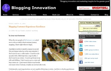 http://www.business-strategy-innovation.com/2010/03/mapping-customer-experience-excellence.html