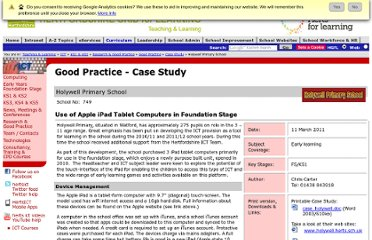 http://www.thegrid.org.uk/learning/ict/research/casestudies/holywell.shtml