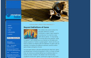 http://blog.ihobo.com/2012/03/beyond-definitions-of-game.html