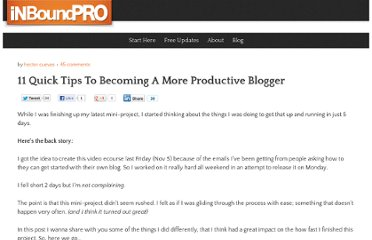 http://www.inboundpro.net/11-tips-becoming-productive-business-blogger