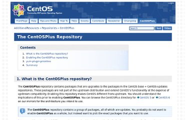 http://wiki.centos.org/AdditionalResources/Repositories/CentOSPlus