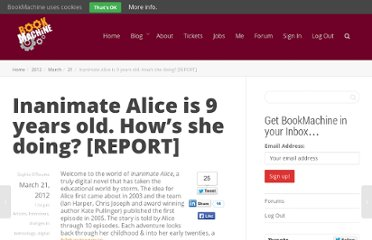 http://bookmachine.org/2012/03/21/inanimate-alice-is-9-years-old-how-is-she-doing/