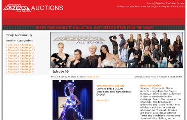 http://projectrunwayallstars.auction.seenon.com/viewcat.php?category=282
