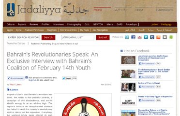 http://www.jadaliyya.com/pages/index/4777/bahrains-revolutionaries-speak_an-exclusive-interv