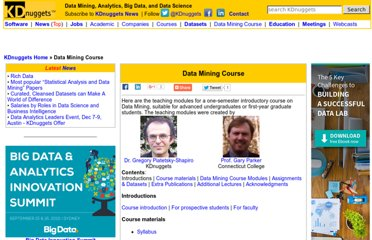 http://www.kdnuggets.com/data_mining_course/