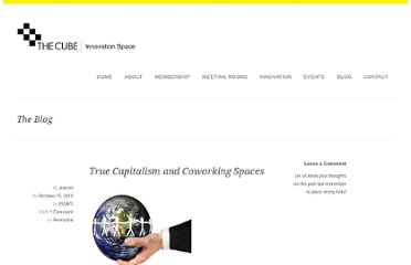 http://thecubelondon.com/blog/2010/10/15/true-capitalism-and-coworking-spaces/