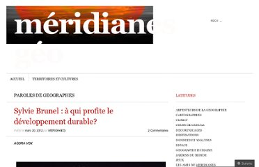http://meridianes.org/2012/03/20/sylvie-brunel-a-qui-profite-le-developpement-durable/