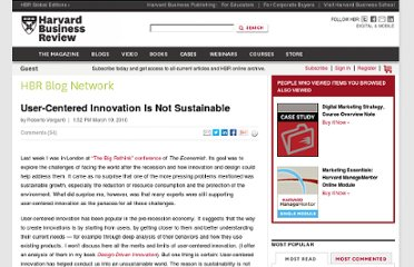 http://blogs.hbr.org/cs/2010/03/user-centered_innovation_is_no.html