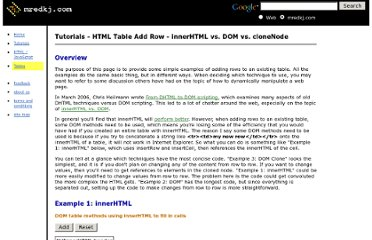 http://www.mredkj.com/tutorials/tablebasics3.html