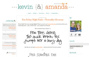 http://www.kevinandamanda.com/whatsnew/new-fonts/ten-friday-night-fonts-textuality-giveaway.html