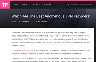 https://torrentfreak.com/which-vpn-providers-really-take-anonymity-seriously-111007/