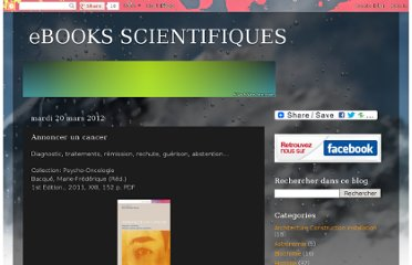 http://ebooks-scientifiques.blogspot.com/2012/03/annoncer-un-cancer.html