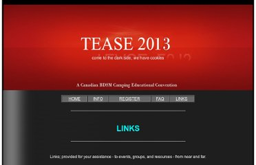 http://www.get-teased.ca/tease-links.html