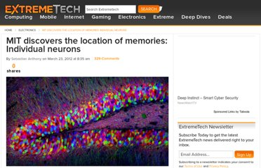 http://www.extremetech.com/extreme/123485-mit-discovers-the-location-of-memories-individual-neurons