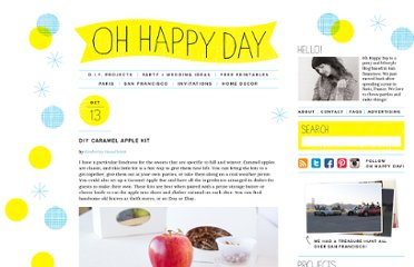 http://ohhappyday.com/2011/10/diy-caramel-apple-kit/