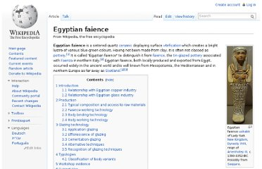 http://en.wikipedia.org/wiki/Egyptian_faience