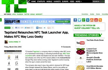 http://techcrunch.com/2012/03/23/tagstand-relaunches-nfc-task-launcher-app-makes-nfc-way-less-geeky/