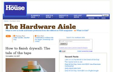 http://hardwareaisle.thisoldhouse.com/2007/11/tale-of-the-tap.html