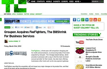 http://techcrunch.com/2012/03/23/groupon-acquires-feefighters-the-billshrink-for-business-services/