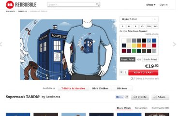 http://www.redbubble.com/people/bamboota/works/6941695-supermans-tardis?p=t-shirt