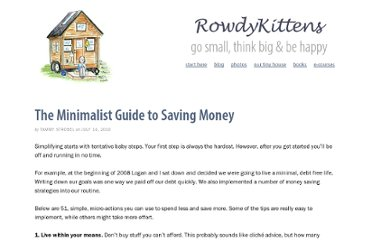 http://rowdykittens.com/2010/07/guide-to-saving-money/