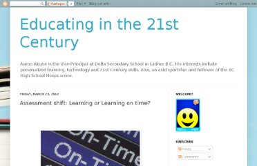 http://aakune.blogspot.com/2012/03/assessment-shift-learning-or-learning.html