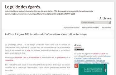 http://www.guidedesegares.info/2012/03/24/la-c-i-en-7-lecons-la-culture-de-linformation-est-une-culture-technique/