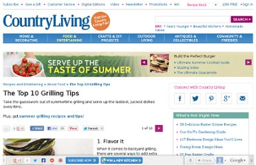 http://www.countryliving.com/cooking/about-food/top-10-grilling-tips-0708#slide-1